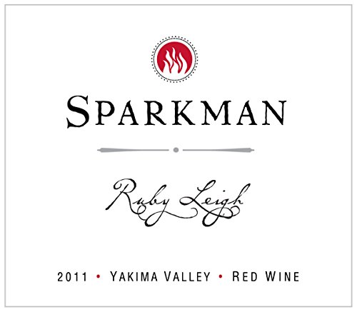 "2011 Sparkman Cellars ""Ruby Leigh"" Yakima Valley Merlot Blend 750 Ml"