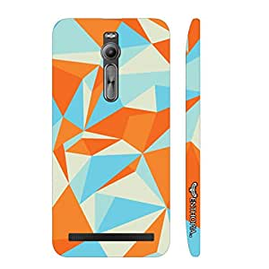 Asus Zenfone 2 Abstract Art 3 designer mobile hard shell case by Enthopia