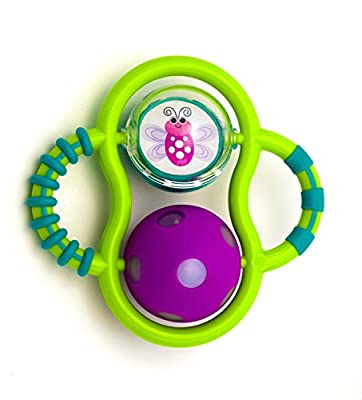 Sassy Grasp and Glow Developmental Teether Toy from Sassy