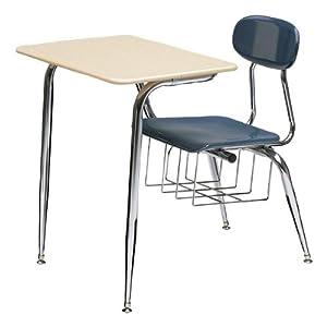 """680 Series Combo School Desk - Fiberboard Top (17 1/2"""" Seat Height) by Scholar Craft"""