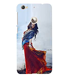 EPICCASE Traditional Look Girl Mobile Back Case Cover For LeEco Le 1s Eco (Designer Case)