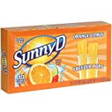 Sunny D Orange Citrus Freezer Pops 2 Pack