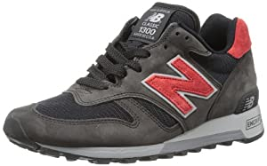 New Balance Men's M1300 Classic Running Shoe,Black/Red,11.5 D US