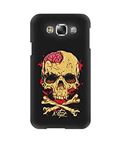 Pick Pattern Back Cover for Samsung Galaxy E7 SM-E700 (MATTE)