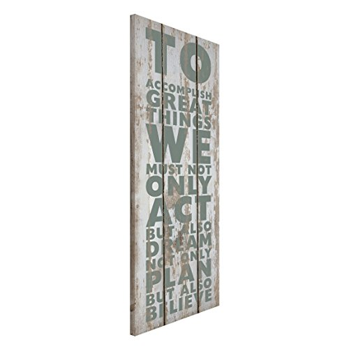Magnettafel no rs179 great things memoboard design hoch for Lebensmotto englisch