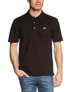 Lacoste Herren Poloshirt L1230-00, Einfarbig, Gr. XXX-Large (Herstellergröße: 56), Schwarz (031 NOIR)