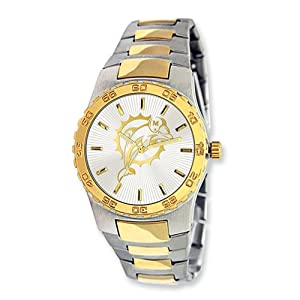 Mens NFL Miami Dolphins Executive Watch by Jewelry Adviser Nfl Watches