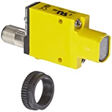 Banner SM312LVQD Mini Beam DC Photoelectric Sensor, Retroreflective Mode, 4-Pin European QD Termination, 5m Sensing Range