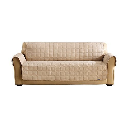 Surefit 1 Piece Quilted Sofa Suede Waterproof Pet Cover  : 41eVHQTKX3L from www.bta-mall.com size 500 x 500 jpeg 19kB