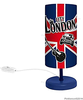 Lampe de chevet london un luminaire d co aux couleurs de for Lampe de bureau london