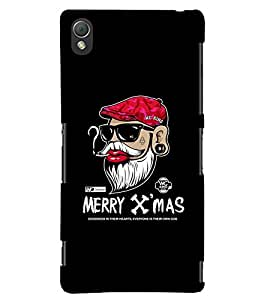 TOUCHNER (TN) Xmas Back Case Cover for Sony Xperia Z3::Sony Xperia Z3 D6653 D6603
