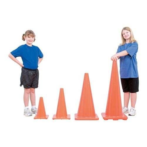 BSN Sports Orange Game Cones, 12-Feet (Dynamic Cone compare prices)