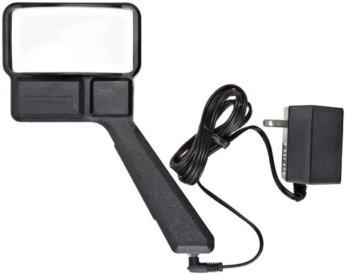 Donegan A-2000 Aspheric Illuminated Hand Held Magnifier, 3x Magnification, 2