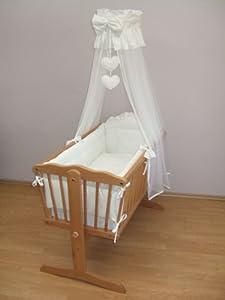 10 Piece Baby Crib Bedding Sets 90x40cm Fits Swinging