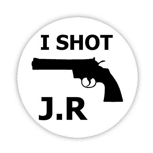 i-shot-jr-gun-button-badge-58mm-large-pinback-pin-back-lapel-novelty-gift