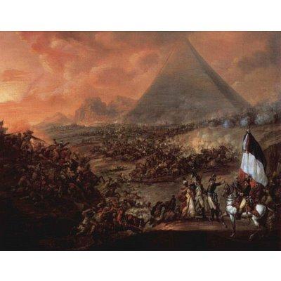 Francois-Louis-Joseph Watteau (The Battle of the Pyramids) Art Poster Print - 13x19