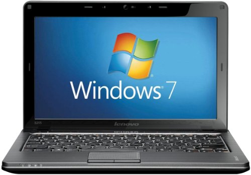 Lenovo IdeaPad S205 11.6 inch Laptop (AMD E350 1.6GHz, RAM 4GB, HDD 500GB, WLAN, BT, Webcam, Windows 7 Home Premium) - Black