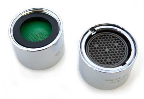 Neoperl 1.5 GPM Female Vandal Proof Faucet Aerator with Key Water Saving Soft Aerated Stream