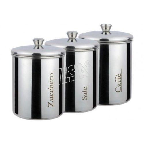 BARATTOLO CAFFE' CL.100 INOX 18/10 ILSA