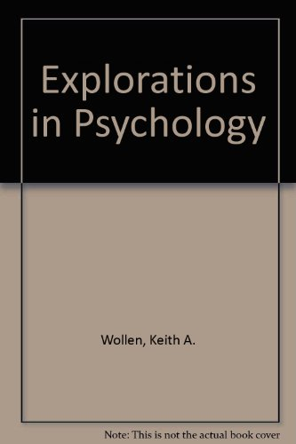 Explorations in Psychology