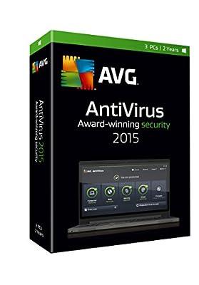 AVG AntiVirus 2015, 3 User 2 Year