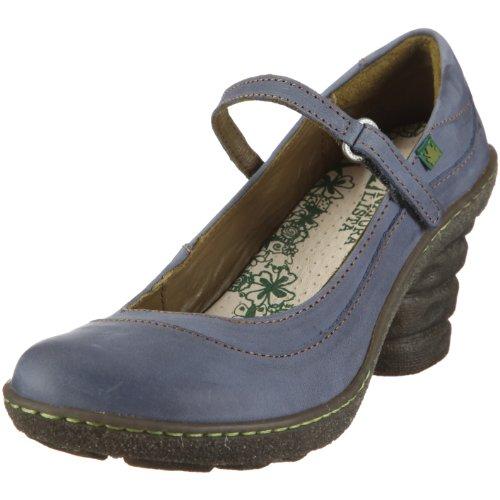 El Naturalista Women's N760 Platform Heel Indigo 5 UK