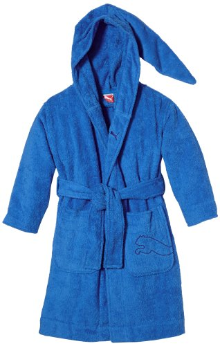 PUMA Kinder Bademantel Foundation Bathrobe, brilliant blue, 176, 510535 02