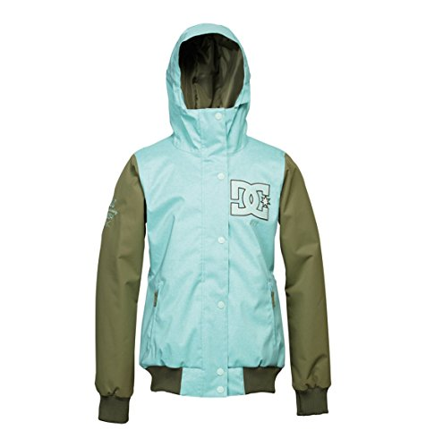 DC Shoes Women's Squad Snowboard Jacket Blue M