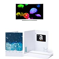LG Electronics 55EG9600 55-Inch 4K Ultra HD Curved Smart OLED TV and $200 Amazon.com Gift Card<br />