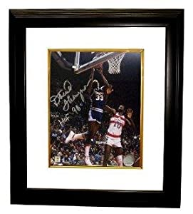 David Thompson Autographed Photo - Denver Nuggets NBA 8x10 HOF 96 Custom Framed -... by Sports Memorabilia