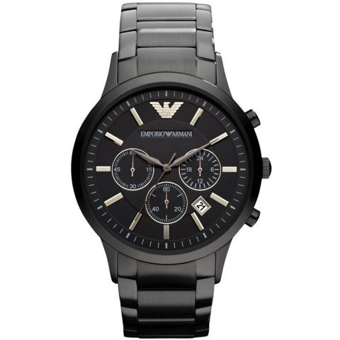 Emporio Armani AR2453 Classic Black Chronograph Mens Watch