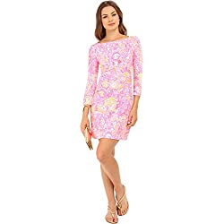 Lilly Pulitzer Women's UPF 50+ Sophie Dress Pink Pout More Kinis In The Keys Dress XL
