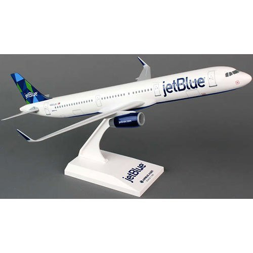 Daron SkyMarks SKR778 JetBlue Airlines Airbus A321 1:150 Scale New Livery Prism Tail Display Model (Jetblue Model Plane compare prices)