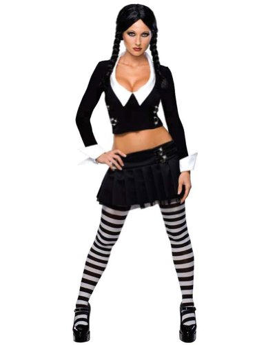 Adult-Costume Wednesday Adult Small Halloween Costume - Adult Small