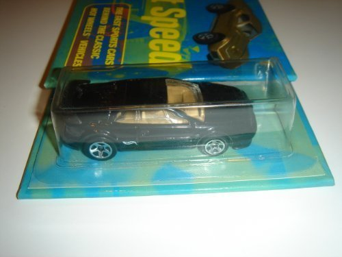 Hot Wheels Lotus Esprit Black With Hot Wheels Street Speed Collectible Book #6