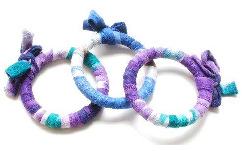 Nicole Miller Textile Bracelet (NM24) - Rwanda