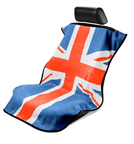 Seat Armour (SA100MINIRWB) Red/White/Blue 'British Flag' Seat Protector Towel (British Flag Car Seat Covers compare prices)