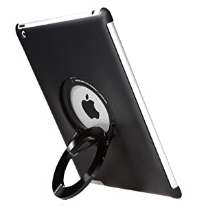 Rolling Ave. i-Circle Multistand/Grip for iPad 4, Black (ICRB1)