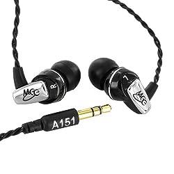 MEE Audio A151 Balanced Armature In-Ear Headphones (Black)