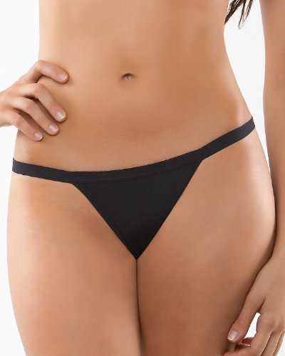 4da1dc29c76 Leonisa 3-Pack Invisible G-String Thong Style Panty - Basic Assorted, M