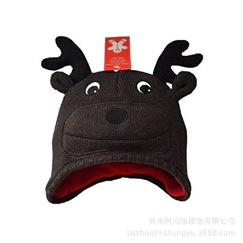 XJoel Baby Beanie Boy Girls Soft Hat Children Winter Warm Kids Knitted Cap L