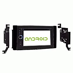 See OTTONAVI Hyundai Santa Fe 2007-2012 In-Dash Double Din Android Multimedia K-Series Navigation Radio with Complete Kit Details