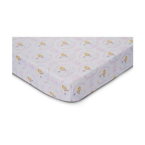 Disney Baby Cinderella 100% Cotton Fitted Crib Sheet - 1