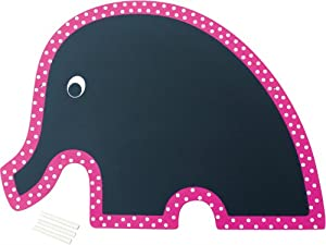 wandtafel schreib tafel elefant pink f r kinderzimmer. Black Bedroom Furniture Sets. Home Design Ideas