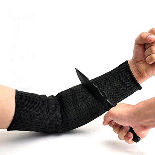 inibud-kevlar-sleeve-armschutz-unterarmschutze-anti-schnitt-brennen-resistent-arm-sleeve-1-paar-schw