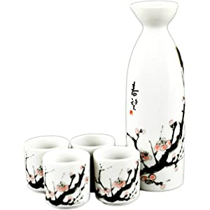 Cherry Blossom Sake Set