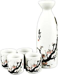 Cherry Blossom Japanese Sake Set