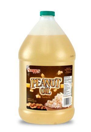 Snappy Popcorn 1 Gallon Snappy Pure Peanut Oil No Color Added, 128 Fl Oz (Peanut Cooking Oil compare prices)