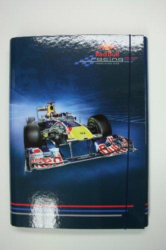 Heftbox DinA4 aus der RedBull Vettel-Serie (Motiv: Fahrzeug)