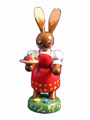 German Erzgebirge Easter Rabbits